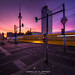 Alexanderplatz autumn sunset by Marcus Klepper