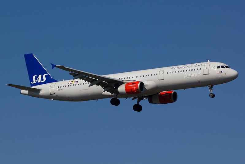 SAS - A321 - OY-KBL (1)