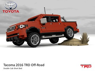 Toyota Tacoma TRD Off-Road Double Cab Short Bed Pickup (2016)
