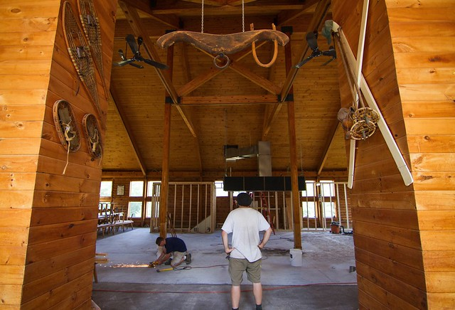 Loon Camp III Lodge reno