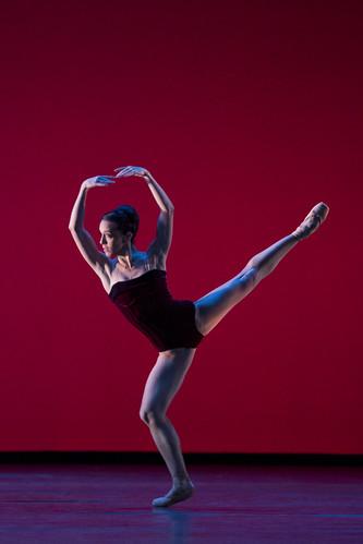 Laura Morera in action.
