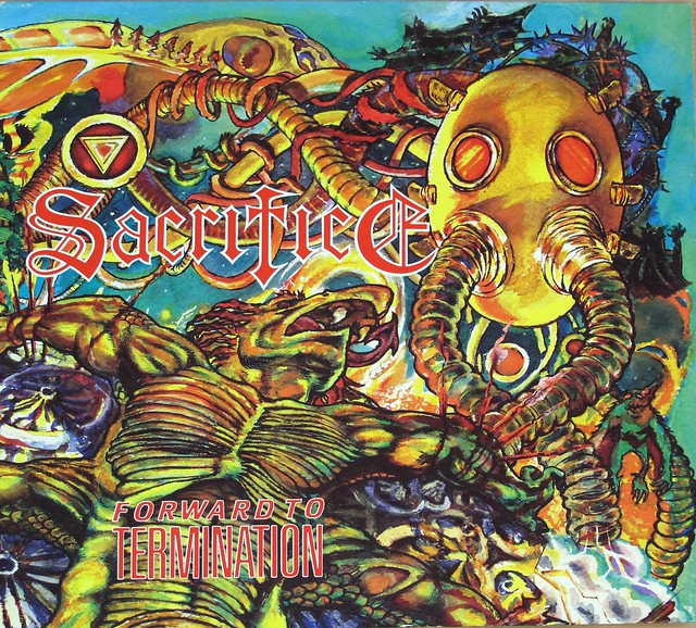 "Sacrifice Forward to Termination 12"" vinyl LP"