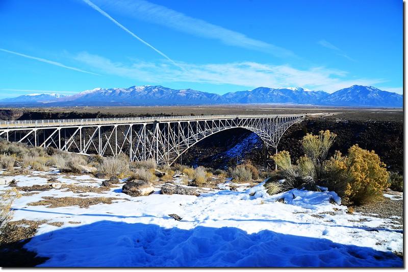Rio Grande Gorge Bridge from the rest area 2