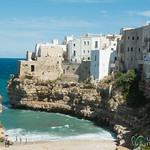 Polignano a Mare, Swimming in the Adriatic Sea - Puglia, Italy