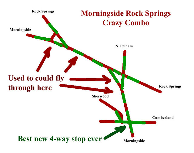 2015-11-30 Morningside Rock Springs Crazy Combo Pelham Cumberland traffic calming