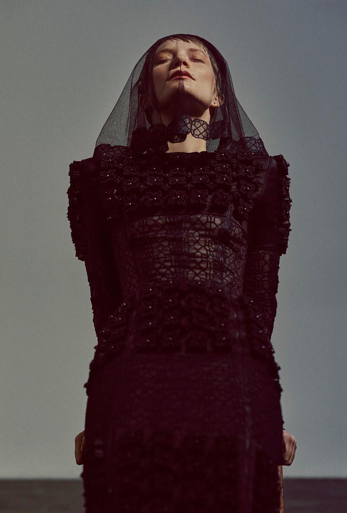 Миа Васиковска — Фотосессия для «Flaunt» 2015 – 15