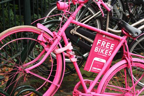 Free bike in Amsterdam 1