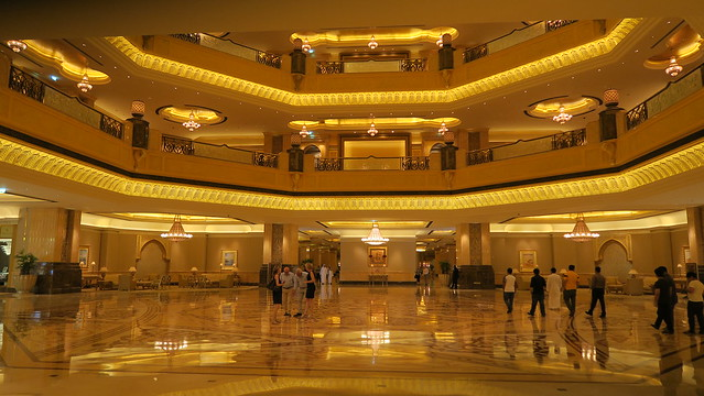 inside emirates palace hotel