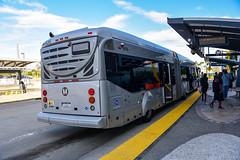 LA Metro NABI 65-BRT #9495