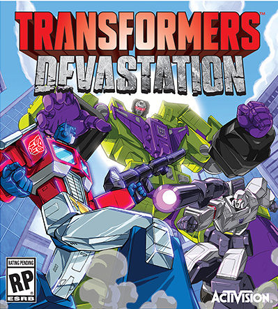 Transformers Devastation - Cover