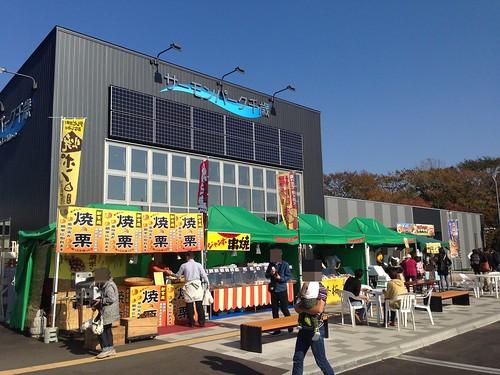 hokkaido-michinoeki-salmonpark-chitose-stall