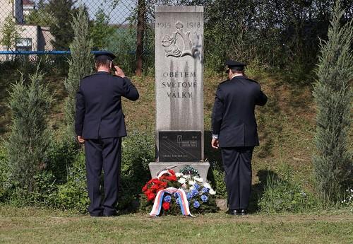 2008 - Pietní akt u pomníku padlých