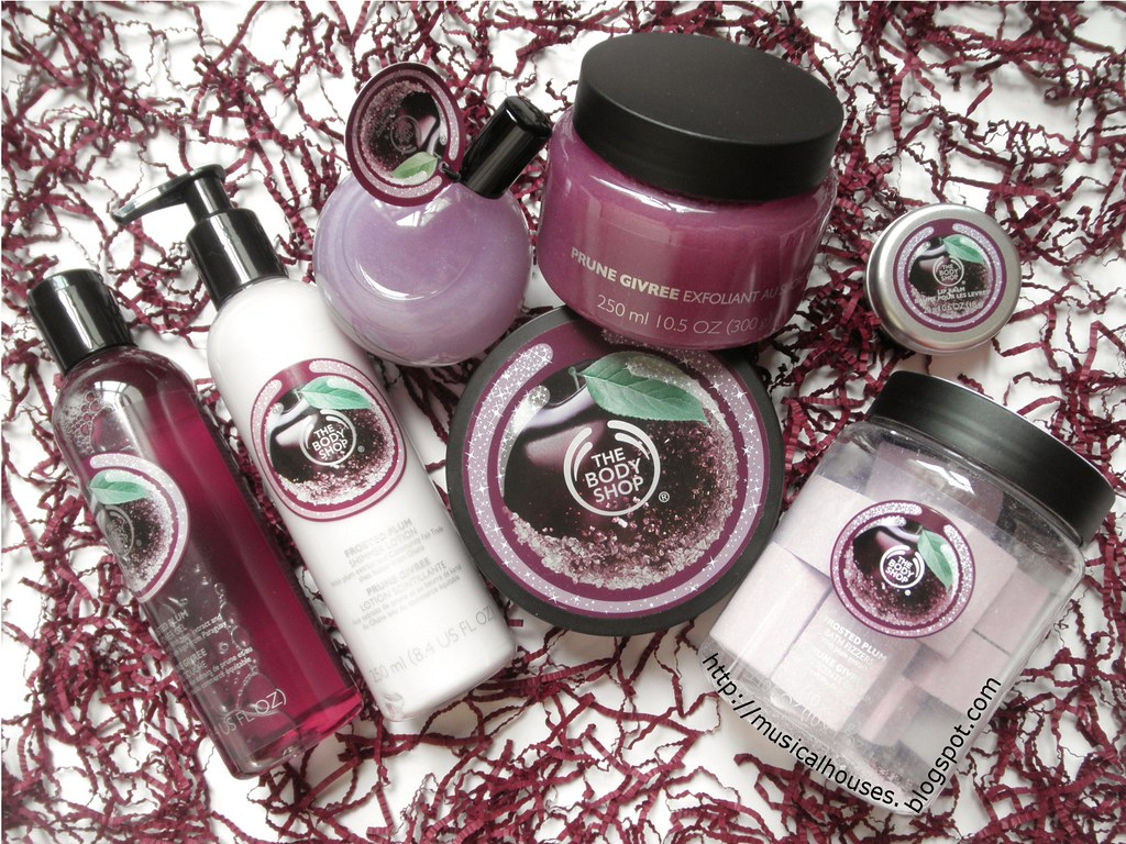 The Body Shop Frosted Plum Holiday Collection
