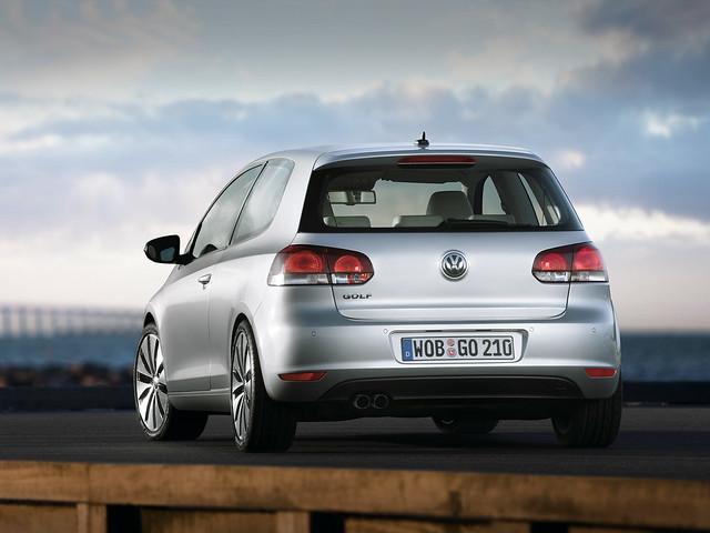 Трехдверный Volkswagen Golf (Typ 5K). 2008 – 2012 годы