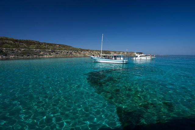 Akamas blue lagoon