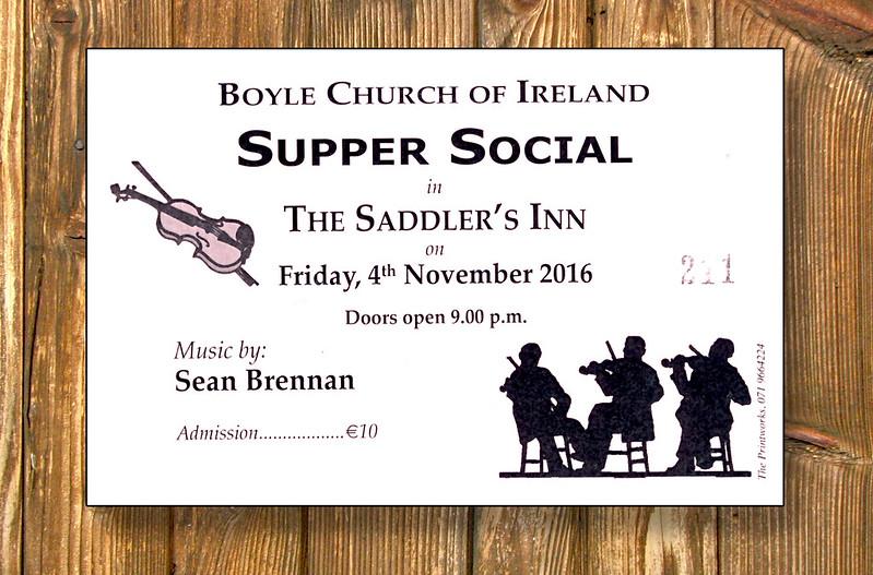 Church of Ireland Supper Social