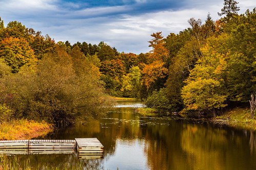 Presque Isle River Autumn
