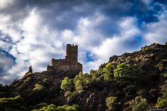 Les châteaux de Lastours-: le château de Cabaret