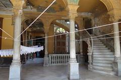 """La Havane (Cuba) : Vieil immeuble du célèbre restaurant """"La Guarida"""""""