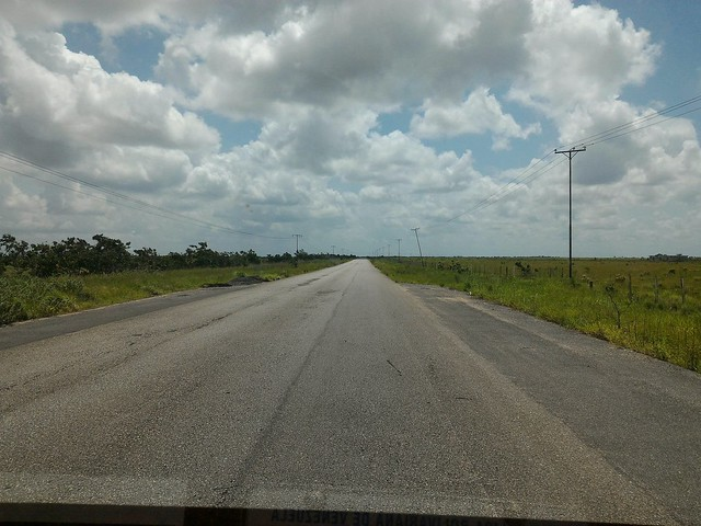 Monagas, carretera Aguasay