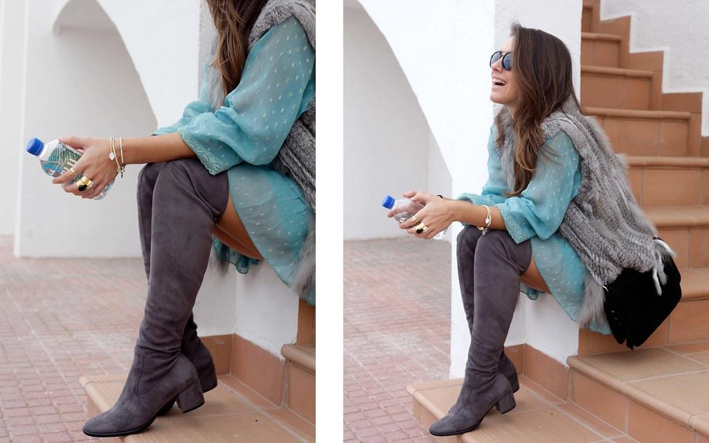 09_vestido_turquesa_y_botas_altas_girses_casual_look_theguestgirl_fashion_blogger_barcelona
