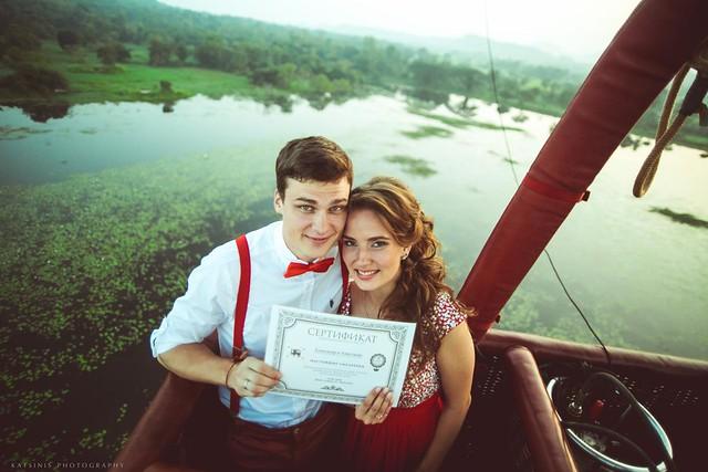 Balloon Flight Wedding (Sri-Lanka)