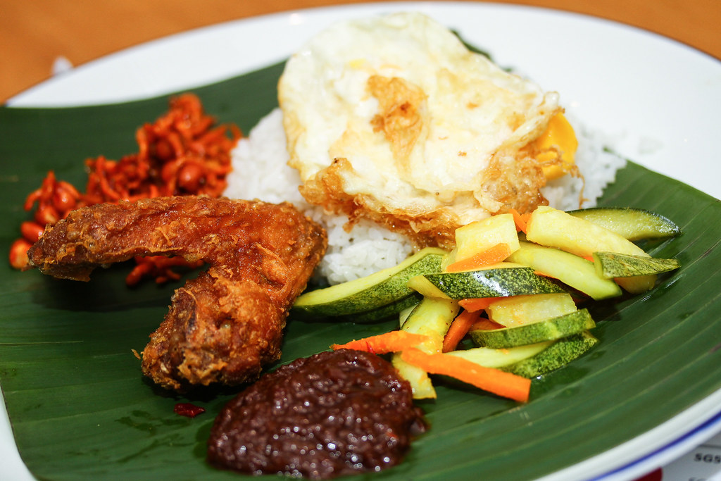Nasi Lemak from Indonesian Padang @ Food Republic