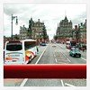 Riding on the top deck... #doubledecker #doubledeckerbus #bus #Edinburgh #scotland #latergram
