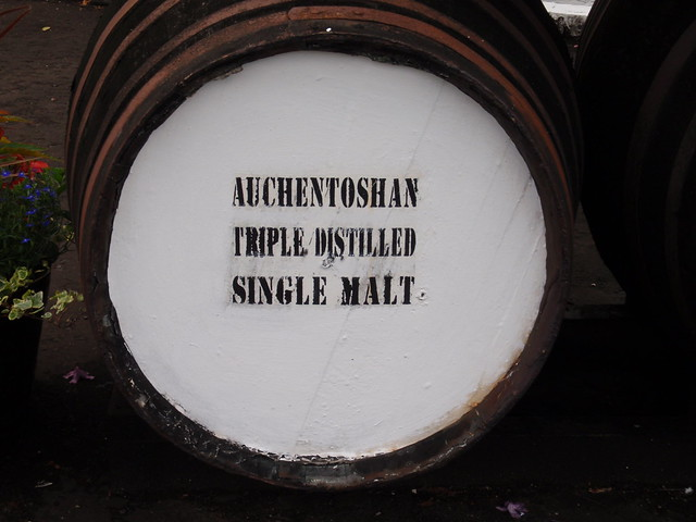 Cask at Auchentoshan distillery