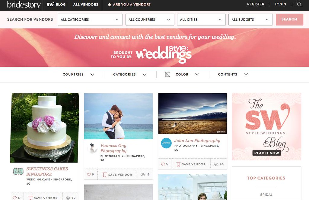 Wedding Shopping Made Easy Online with Bridestory - Alvinology