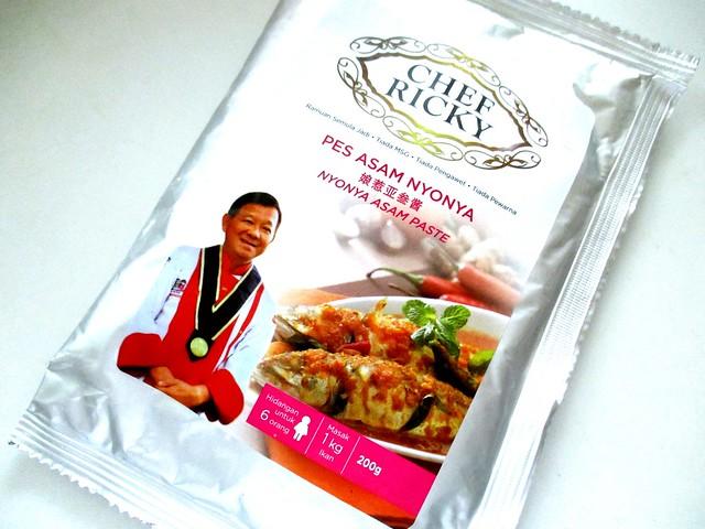 Chef Ricky pes asam nyonya