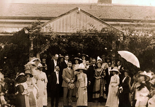 Wedding of Mary Wilson and Bernard Smithers at 'Claremont' - 23 April 1912