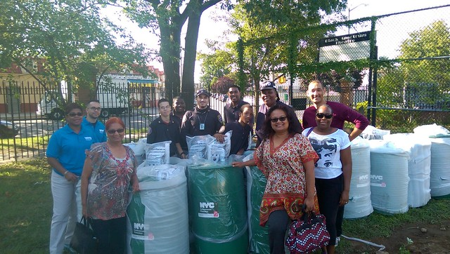 Rain Barrel Giveaway in St. Albans, Queens