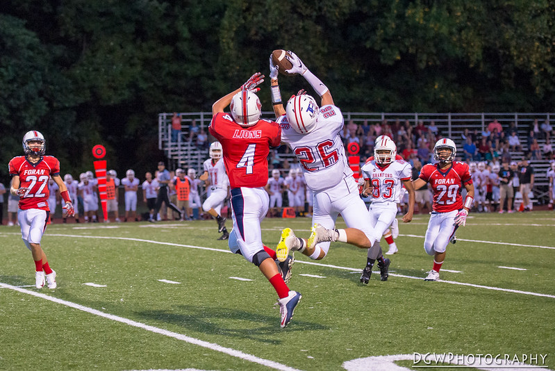 Foran High vs. Branford High - High School Football