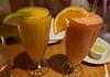 Empanada Mama NYC - Mango and Guava Shakes