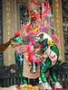 Paper effigy, Longshan Temple, Taipei, 2015