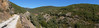 panoramic view of the trail by galaxed