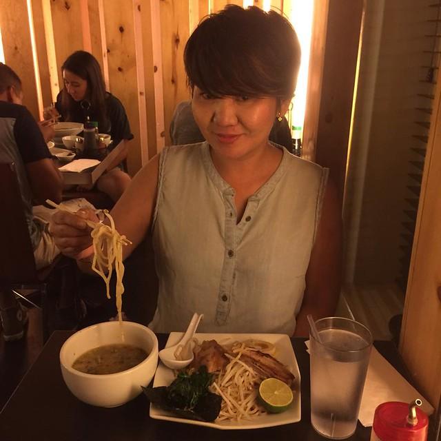 Siverlake Ramen Tokyo-style tsukemen dippin noodle
