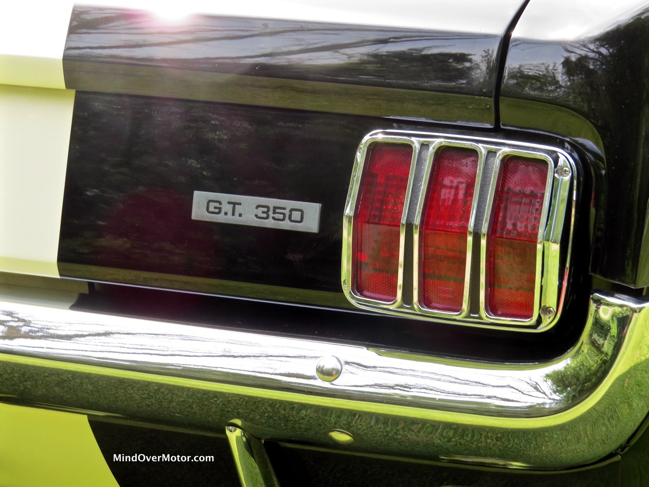 1966 Shelby GT350 Badge