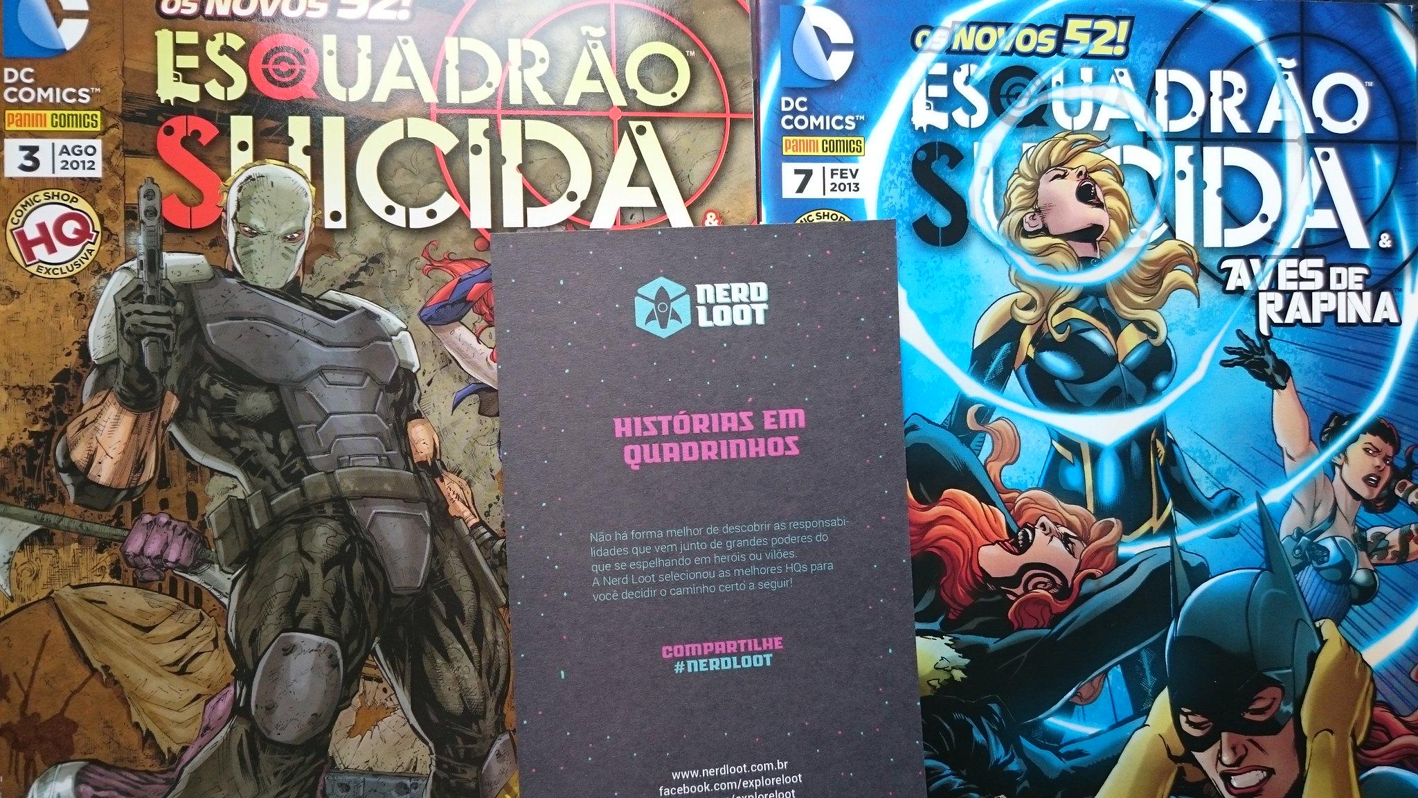 Nerd Loot #1 - Quadrinhos