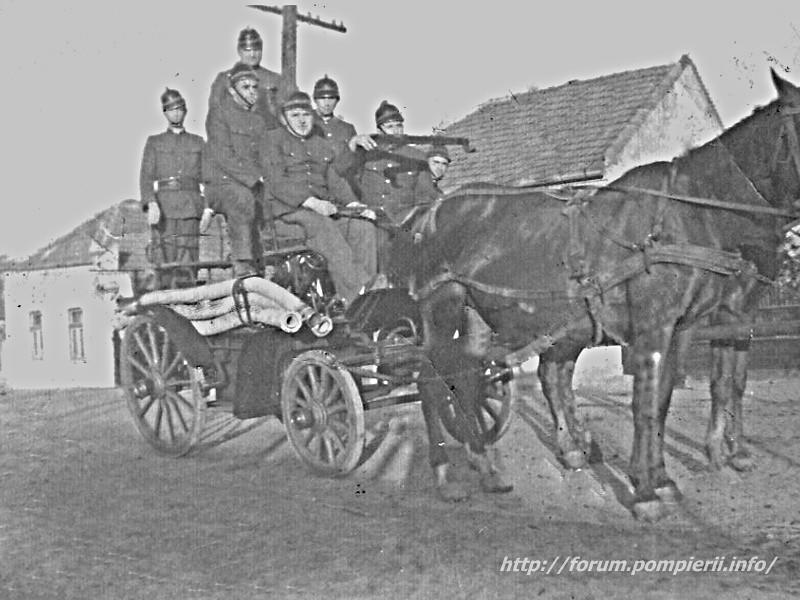 Pompieri voluntari Teiuș în 1921