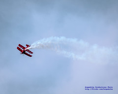 Oracle Challenger III Rolling Around With Smoke at Seafair Sunday 2015