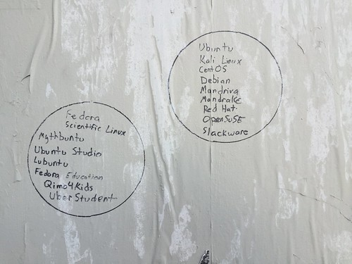 Linux graffiti