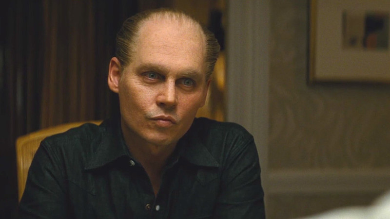 Johnny Depp is unsettlingly odd in BLACK MASS.
