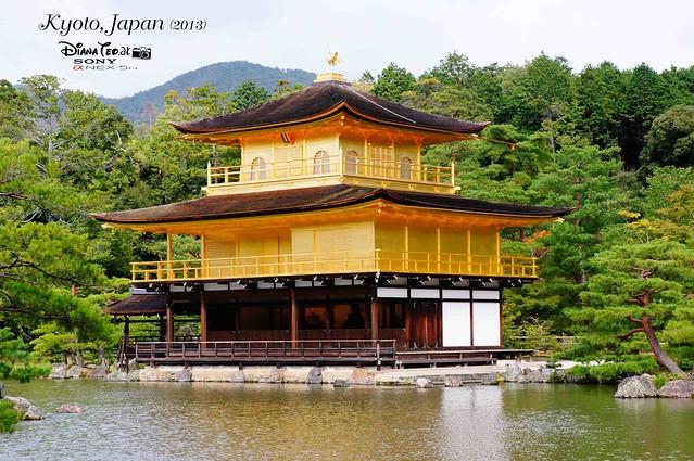Kyoto - Kinkakuji (Golden Pavilion) 02