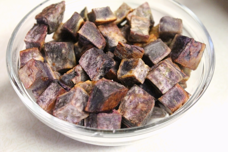 Roasted Purple Yam