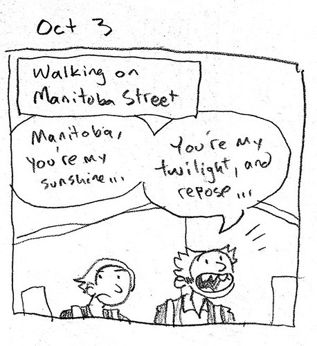 October 3 - Manitoba