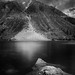 Lundy Lake - Black and White by Aron Cooperman