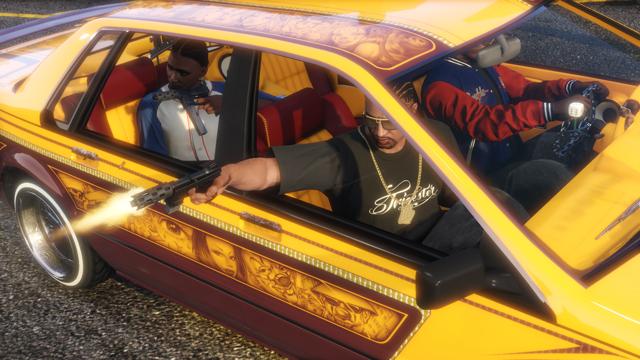 GTA: Online Lowrider