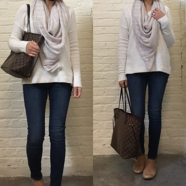 LOFT Relaxed V-Neck Sweater